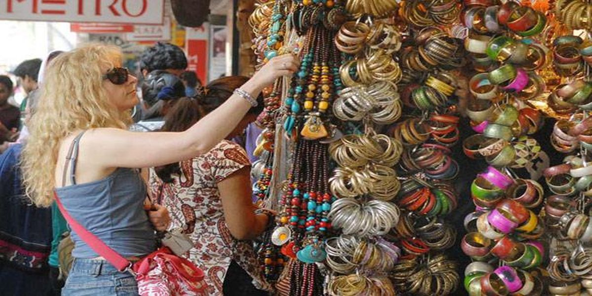 Shopping in Pushkar Rajasthan